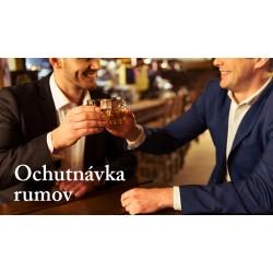 Ochutnávka rumov 16.1.2019