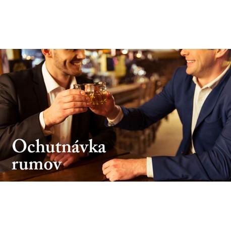 Ochutnávka rumov 19.4.2018