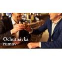 Ochutnávka rumov 8.8.2018