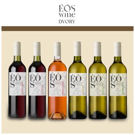Degustačná sada vín č.2 ÉÓS Wine Dvory nad Žitavou