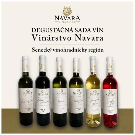 Degustačná sada vín - Vinárstvo Navara