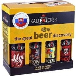 Degustačná sada remeselného piva Kaltenecker