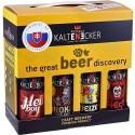 Degustačná sada remeselného piva Kaltenecker, 8x0,33 l