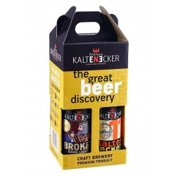 Degustačná sada remeselného piva Kaltenecker, 4x0,33 l