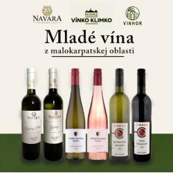 Mladé vína od slovenských vinárov