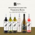Degustačná sada vín - Vinárstvo Berta