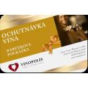 Darčeková poukážka na ochutnávku vína