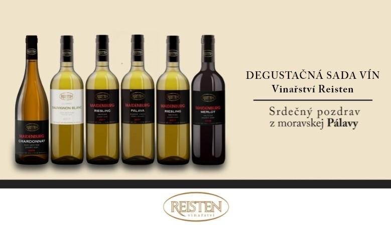 Degustačná sada vín Vinařství Reisten