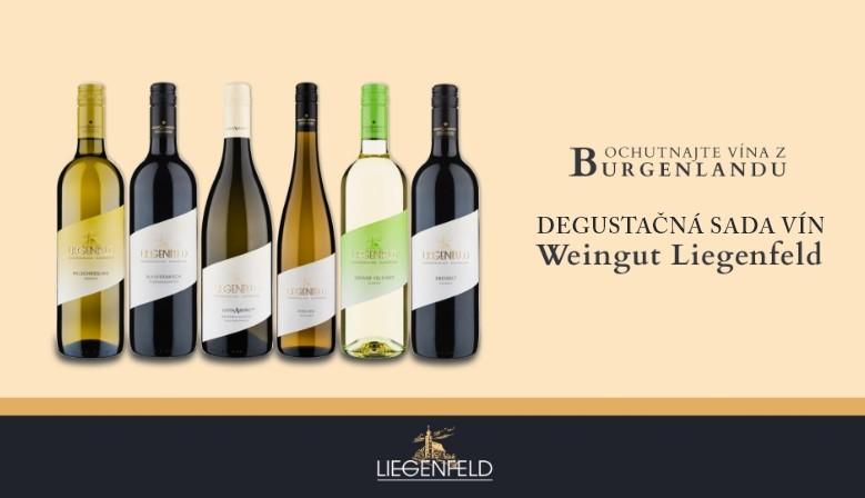 Degustačná sada vín Weingut Liegenfeld