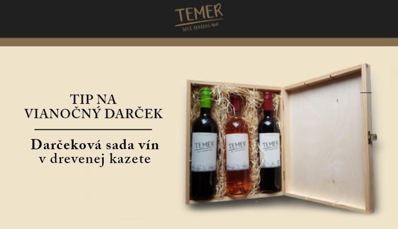 Darčeková sada vín Weingut Christian Temer