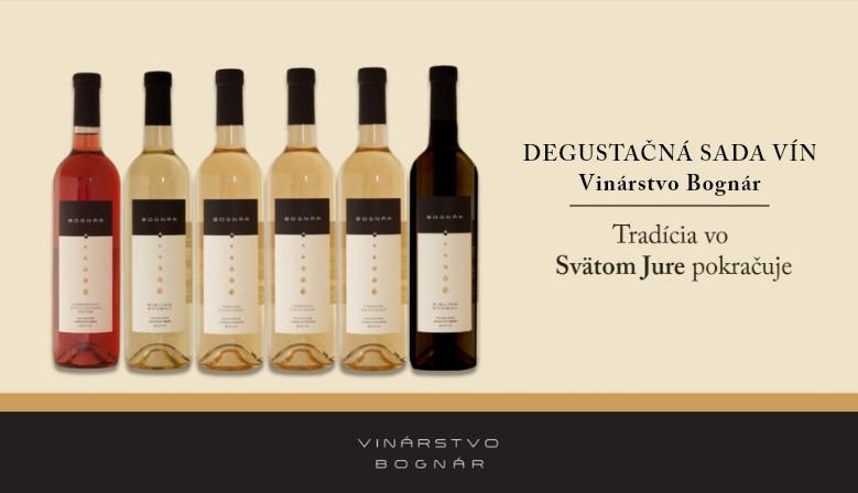 Degustačná sada vín Vinárstvo Bognár